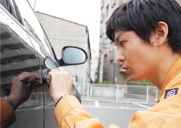 車の鍵トラブル