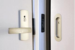 部屋の鍵・トイレの鍵交換など