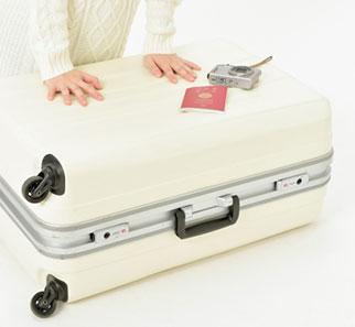 スーツケースを開けてほしい!