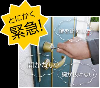 木津川市・木津・山田川で鍵交換・鍵開けは鍵屋が急行!