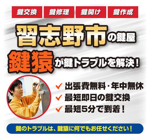 津田沼・新習志野など対応地域は出張費無料で駆けつけます!