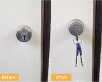 横浜市戸塚区品濃町で鍵交換 鍵を失くしたので防犯対策