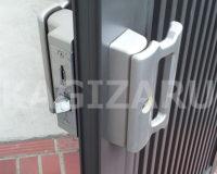 茨木市三島丘で鍵がかかりにくい門扉錠を修理しました