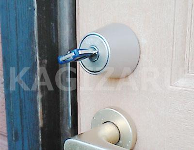 横浜市旭区で玄関の鍵抜き