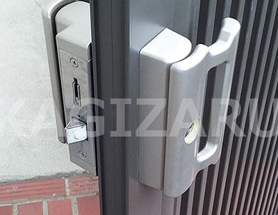 茨木市で門扉錠の修理