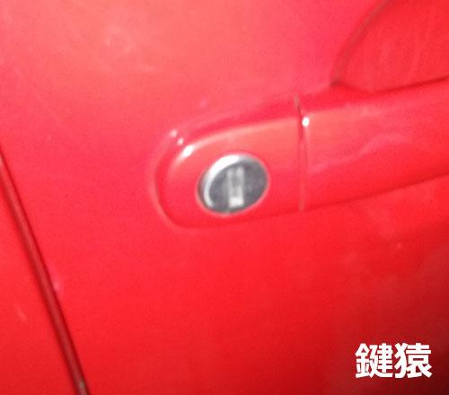 大阪市北区で車の鍵開け