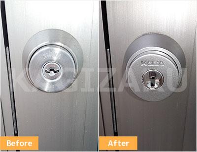 豊島区で玄関ドアの鍵交換